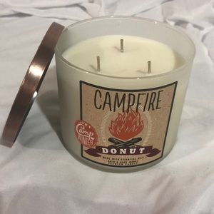 Campfire Donut 3 wick Candle